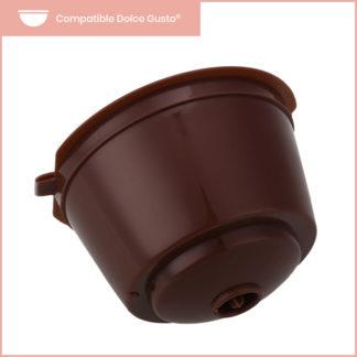 capsule réutilisable dolce gusto en plastique