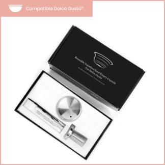 Coffret premium de capsules reutilisables Dolce Gusto